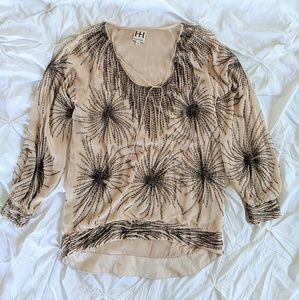 Haute Hippie Beaded Blouse